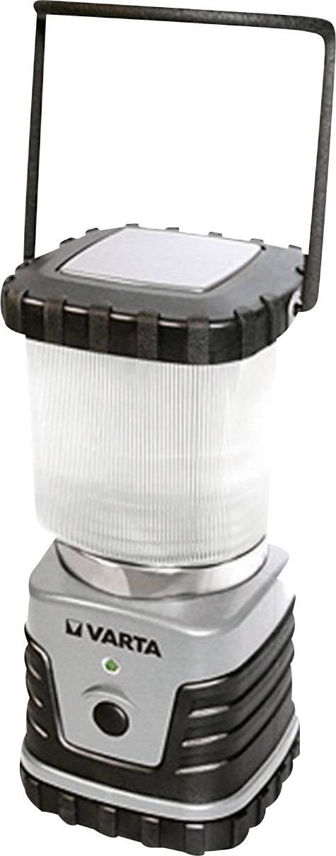 Kempingová lucerna Varta 3D, 4 W, stříbrná/černá (18663101111)