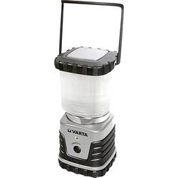 LED campingový lampáš Varta 3D, 4 W 18663101111, 830 g, striebornočierná