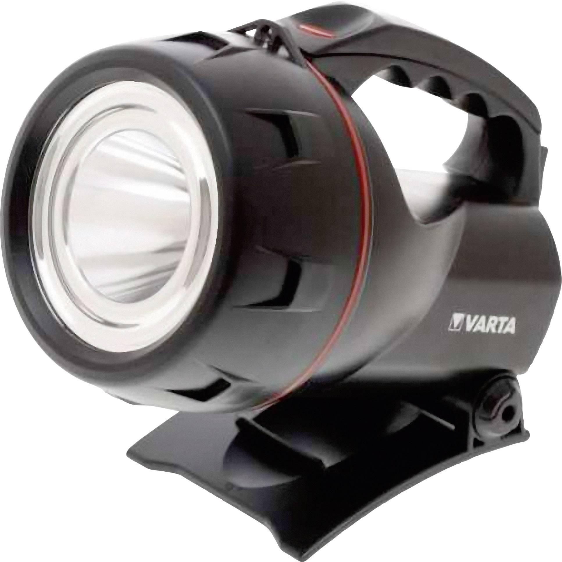 Ručné akumulátorové svietidlo (baterka) Varta 18682101401, čierna