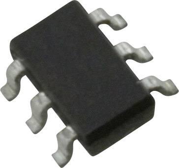 NPN dual matched tranzistor (BJT) - pole Nexperia BCM847DS,115, TSOP-6 , Kanálů 2, 45 V