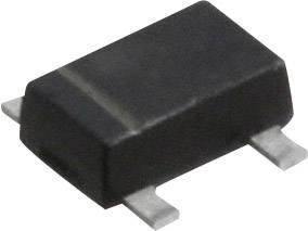 Dvojitá Z-dióda Panasonic DZ4J100K0R, SMini4-F3-B, zener. napätie 10 V