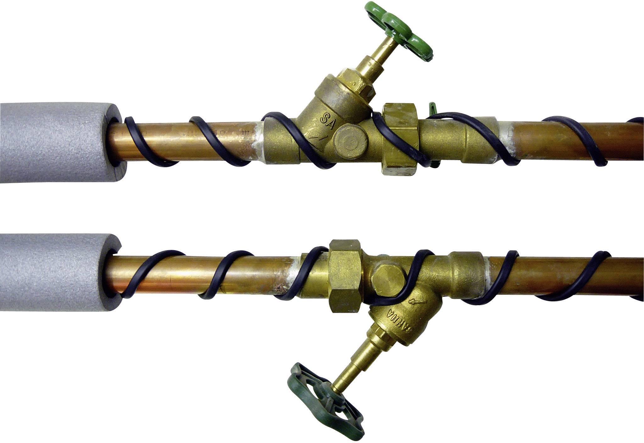 Topný kabel s ochranným termostatem Arnold Rak HK-8,0-F, 120 W, 8 m