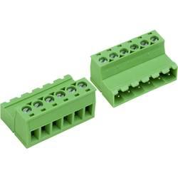 Zásuvkové púzdro na kábel PTR AKZ950/6-5.08 50950067028E, 31.98 mm, pólů 6, rozteč 5.08 mm, 1 ks