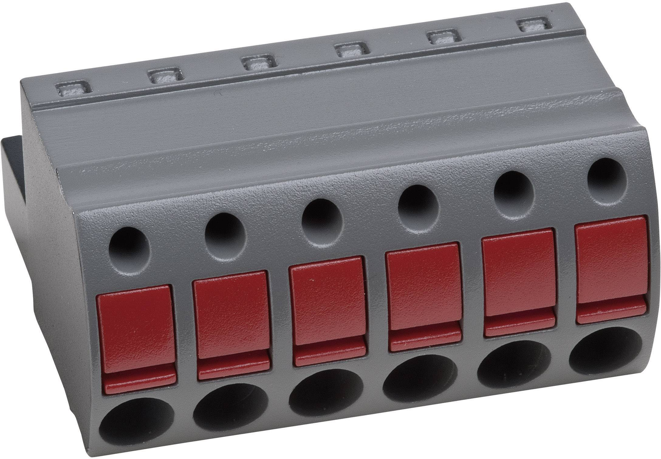 Zásuvkové púzdro na kábel PTR AK4951/2KD-5.0 54951020401D, 25.60 mm, pólů 2, rozteč 5 mm, 1 ks