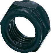Upevňovací matice Phoenix Contact PV-FT-C NUT BK, černá