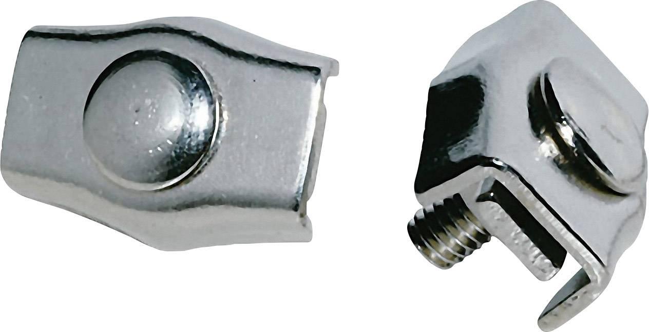 Lanové svorky na tvorbu slučiek, do hrúbky 6 mm²