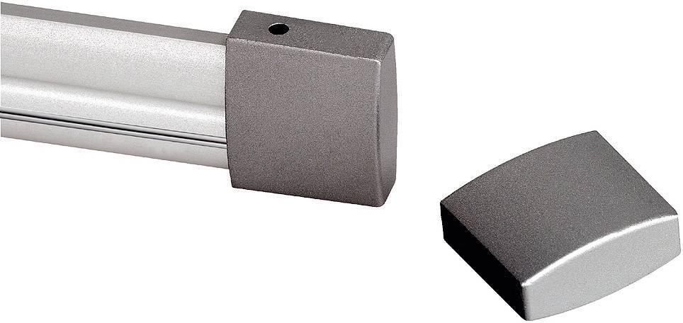 Koľajnicový systém pre halogén, strieborná/šedá