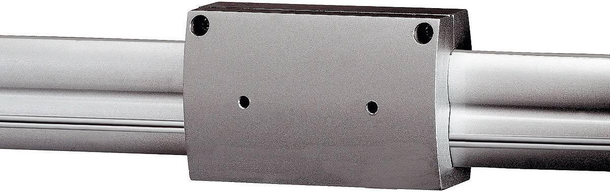 Podélná spojka pro kolejnicový systém SLV Easytec II, 184032, stříbrná/šedá