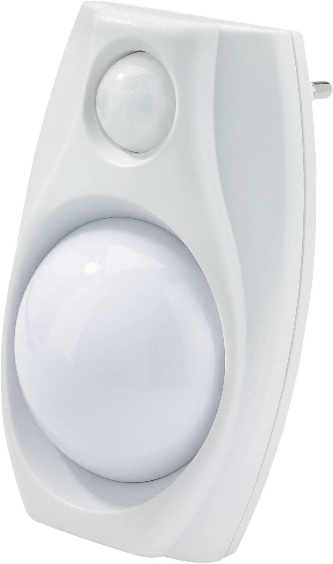Nočné LED svetlo s pohybovým senzorom, biele
