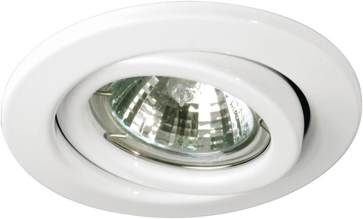 Vstavané svietidlo - halogénová žiarovka Nice Price Basic 3614 GU10, 150 W, sada 3 ks, biela
