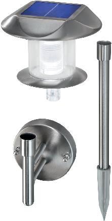 Solární LED svítidlo Esotec Sunny, 102094-01, nerez
