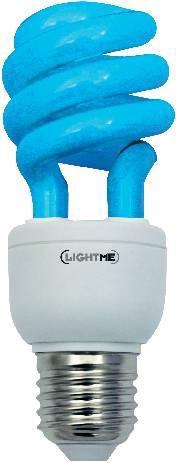 Úsporná žiarovka rúrková Megaman Economy Color E27, 11W, modrá