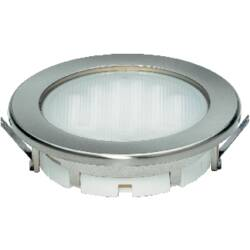 Vestavné úsporné osvětlení Megaman Planex GX53 9 W, nerez