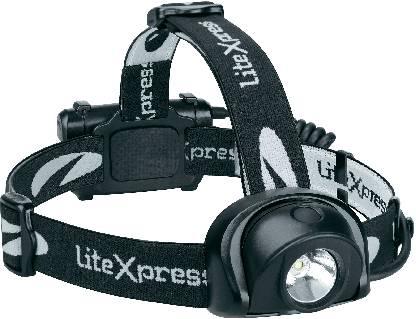 LED čelovka Liberty 113-2 LiteXpress, LXL205001, černá