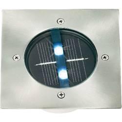 Vestavné solární LED svítidlo, nerez
