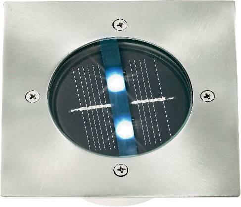 Vonkajšie solárne vstavané svietidlo do podlahy, IP67