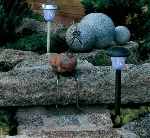 Solárne záhradné svietidlo LED, zapichovacie