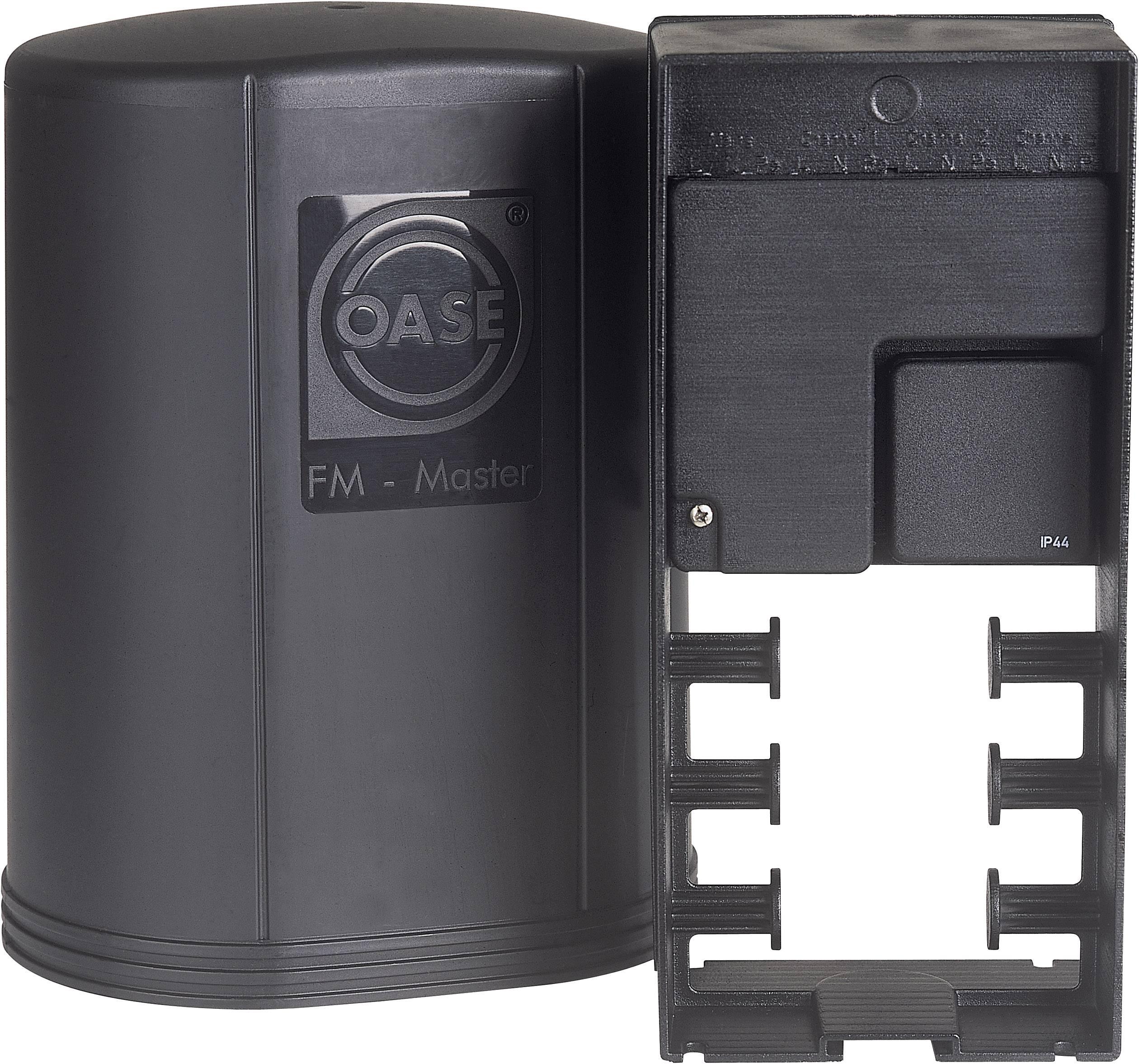 Záhradná zásuvka Oase op spies FM-Master 1 54978, čierna, 4-násobný