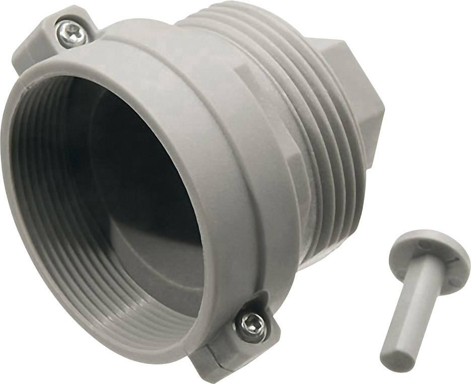 Adaptér na ventily topných těles Oventrop, závit M30 x 1,0, světle šedá