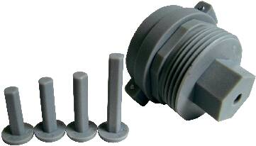 Univerzální adaptér pro termohlavice, závit M28 x 1,5