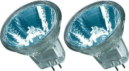 Halogénová žiarovka Osram, 12 V, 20 W, G4, 2000 h, reflektor, 2 ks