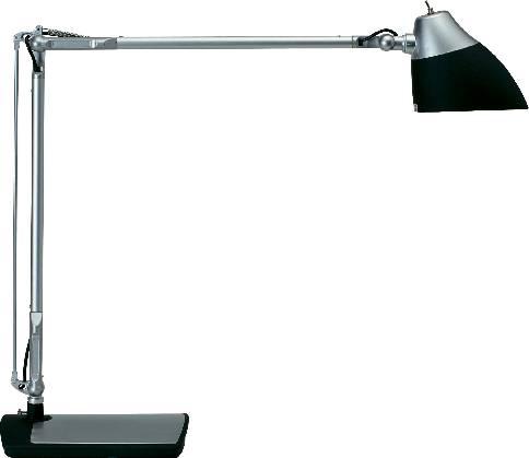 LED lampička na písací stôl Maul Eclipse 8200290, 7 W, denné svetlo, čierna
