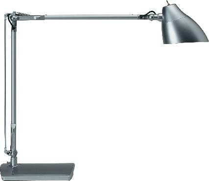 LED lampička na písací stôl Maul Eclipse 8200295, 7 W, denné svetlo, strieborná