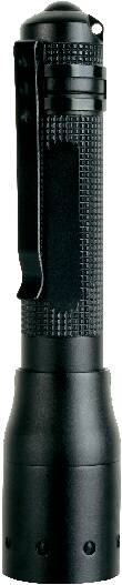LED mini vreckové svietidlo (baterka) Ledlenser P3 BM 8603, na batérie, čierna
