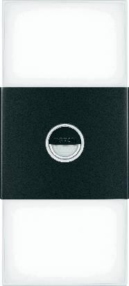 Vonkajšie nástenné svietidlo s PIR Osram Noxlite LED Wall Double Sensor, 2x 6 W