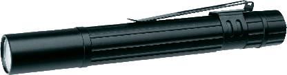 LED mini svietidlo, penlight LiteXpress Pen Power 100-2 LX401101, na batérie, čierna