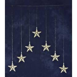 Venkovní světelný závěs - hvězdičky Konstsmide 1243-103 35 x LED, (š x v) 75 cm x 116 cm, 24 V