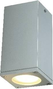 Venkovní stropní osvětlení LED GU10 35 W SLV Theo 229584 stříbrnošedá