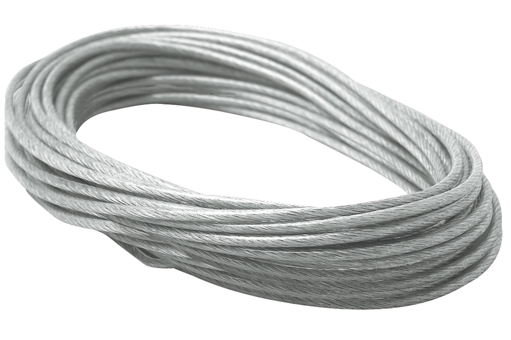 Izolované lanko Paulmann, 979055, 4 mm², 12 m, transparentní/šedá