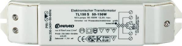 Elektronický transformátor 12V, 150VA