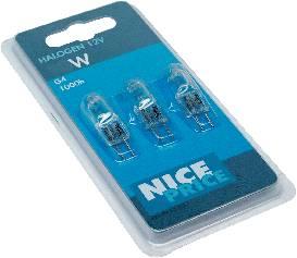 Halogénová žiarovka Nice Price 12 V, G4, 20 W, en.trieda: C, teplá biela, 1 ks