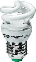 Úsporná žiarovka špirálová Megaman Helix E27, 5 W, super teplá biela