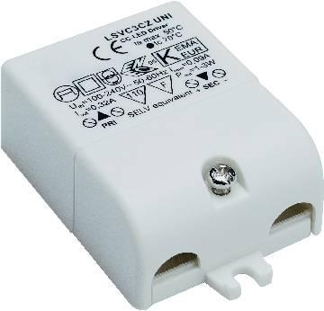 LED tranformátor 3W, 350 mA