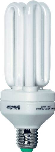 Úsporná žiarovka rúrková Megaman Compact 2000 HPF E27, 30 W, teplá biela