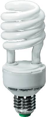 Úsporná žiarovka špirálová Megaman Helix E27, 23 W, super teplá biela