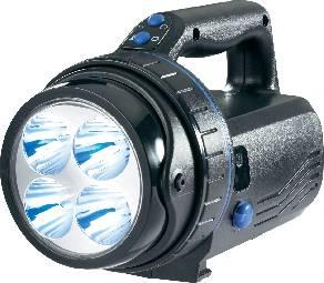Akumulátorové svítilny, montážní lampy