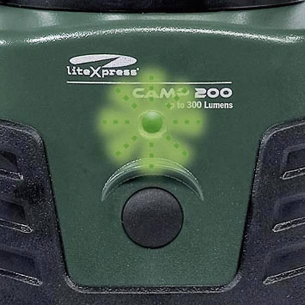 Kempingové svietidlo Camp 200 LiteXpress