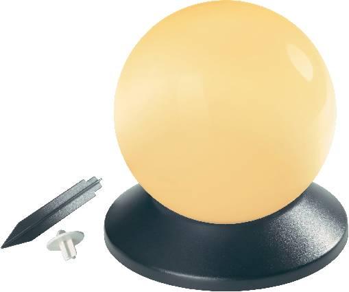 Solárne LED svietidlo v tvare gule