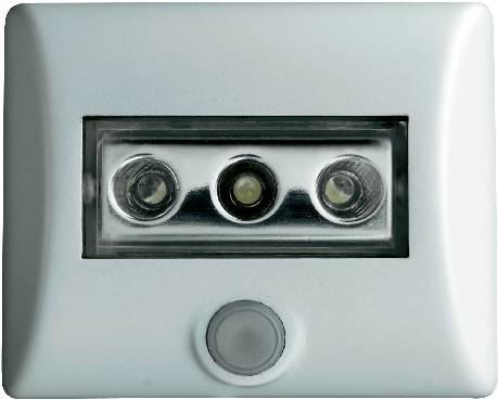 LED nočné svetlo s pohybovým senzorom OSRAM Nightlux, 0.3 W, farba svetla biela, biela