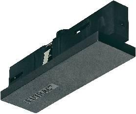 Predlžovacia spojka - vysokonapäť. komponent pre lištové systémy Eutrac 145531, biela