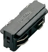 Predlžovacia spojka - vysokonapäť. komponent pre lištové systémy Eutrac 145564, striebornosivá