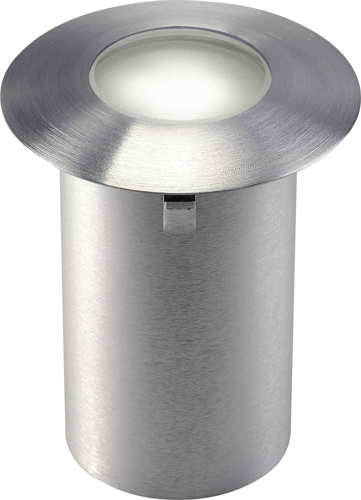 Vonkajšie vstavané LED osvetlenie SLV Trail Lite 227462, 0.3 W, nerezová oceľ