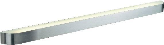 Nástěnné osvětlení do koupelny SLV Arlina 155216, G5, 28 W, hliník (kartáčovaný)