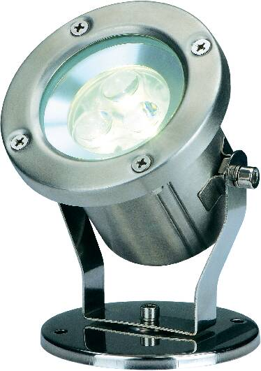 Záhradný reflektor SLV Nautilus LED 304 B, teplá biela