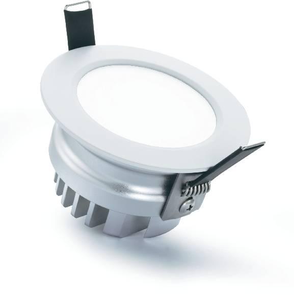 Vstavané svetlo LED Downlight Sygonix Prato, 12 W