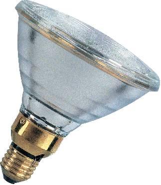 Halogénová žiarovka PAR30, 230 V, 75 W, E27, Ø 125 mm, 7200 cd